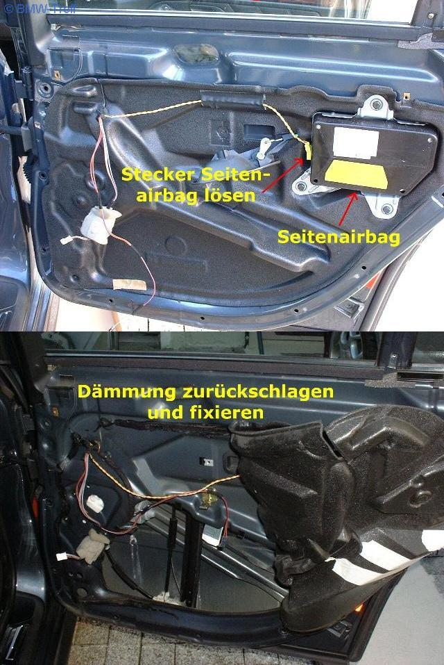 5er E39 E39 Ausbau T 252 Rverkleidung Hinten Mit