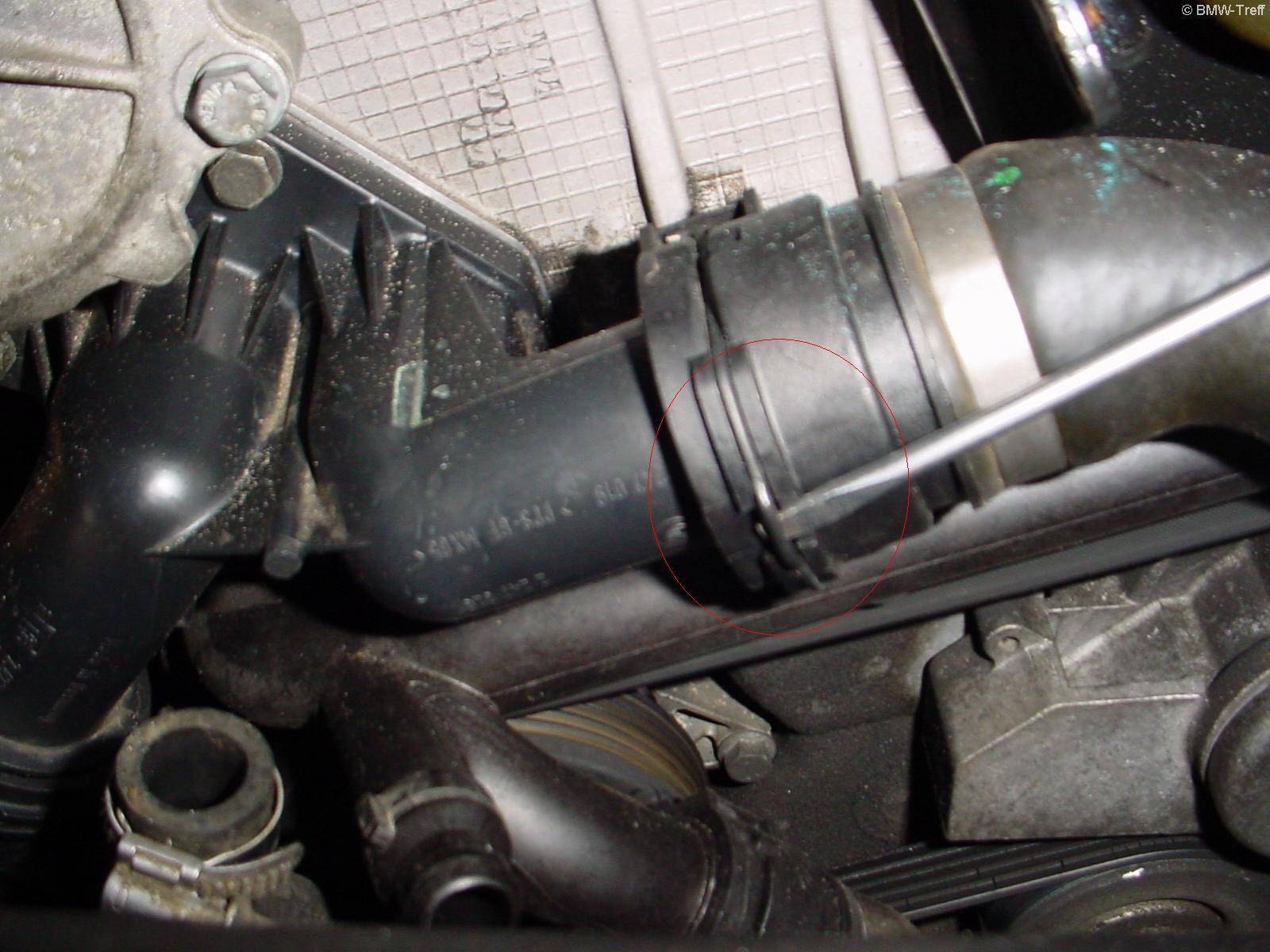 3er E46 - E46 - Thermostat wechseln am 320d - BMW-Treff Forum