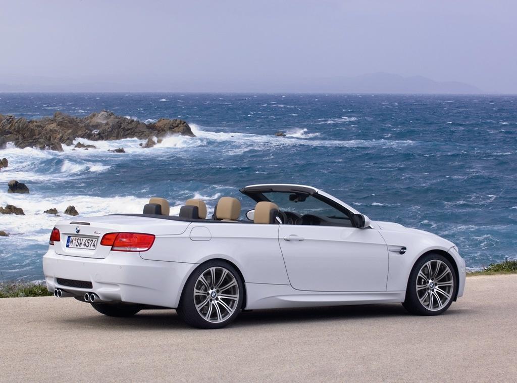 BMW M3 Convertible фото.